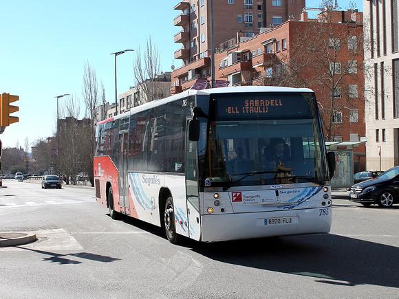 Zenfolio Barcelona Bus Routes Route 231 Sabadell