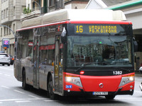 Route 16: Pl. Urquinaona -  Pg. Manuel Girona