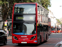 Route 16: Cricklewood, Bus Garage - Victoria