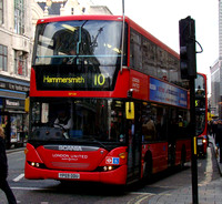 Route 10: Hammersmith - King's Cross
